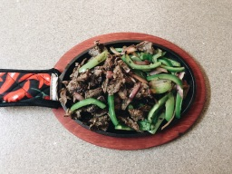 Cast Iron Steak Fajitas Yall!